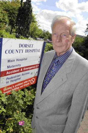 CONCERNED: Derek Julian has appealed for unions to work with hospital management