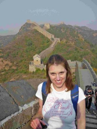 STEP AHEAD: Battens lawyer Charlotte Appleby on the Great Wall of China