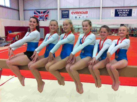 ON THE BEAM: Dorchester's artistic team