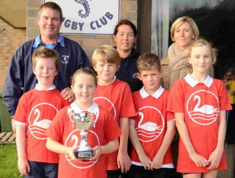 PRIZE WINNERS: Champions Radipole Primary School