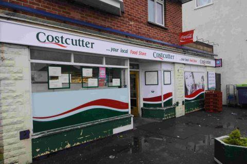 BRAZEN ACT: A Poppy Appeal collection box was stolen from the Costcutter shop in Portland Road, Wyke Regis
