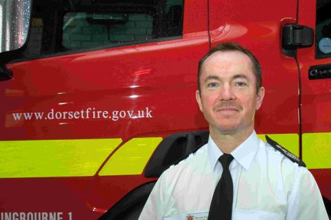 WE CAN HELP: Chief fire officer Darran Gunter urges youngsters to get in touch