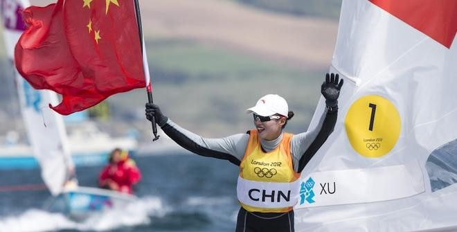 Lijia Xu is 2012 Rolex World Sailor of the Year