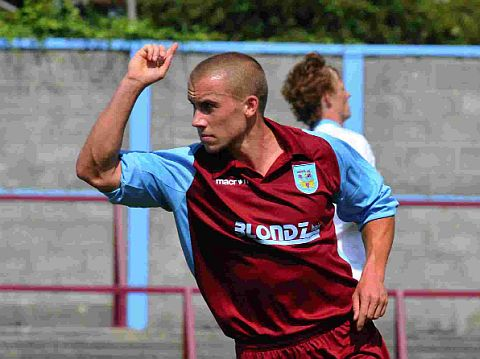 HELPING OUT: Former Terras midfielder Richard Marshallsay is now turning out for Dorset Senior League outfit Weymouth Sports