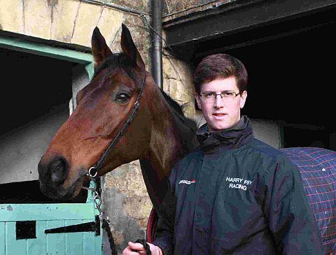 STABLE STAR: Harry Fry with Rock On Ruby