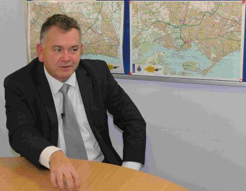 Police and Crime Commissioner Martyn Underhill