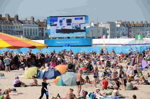 'Olympics effect' sparks surge in Weymouth holiday bookings