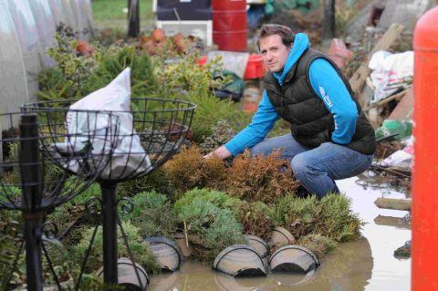 DEVASTATED: Matt Cook at Hanging Gardens Nursery