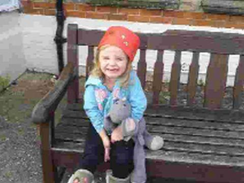 Dorset Echo: POPPY APPEAL: Three-year-old Poppy Trent with missing Mouse