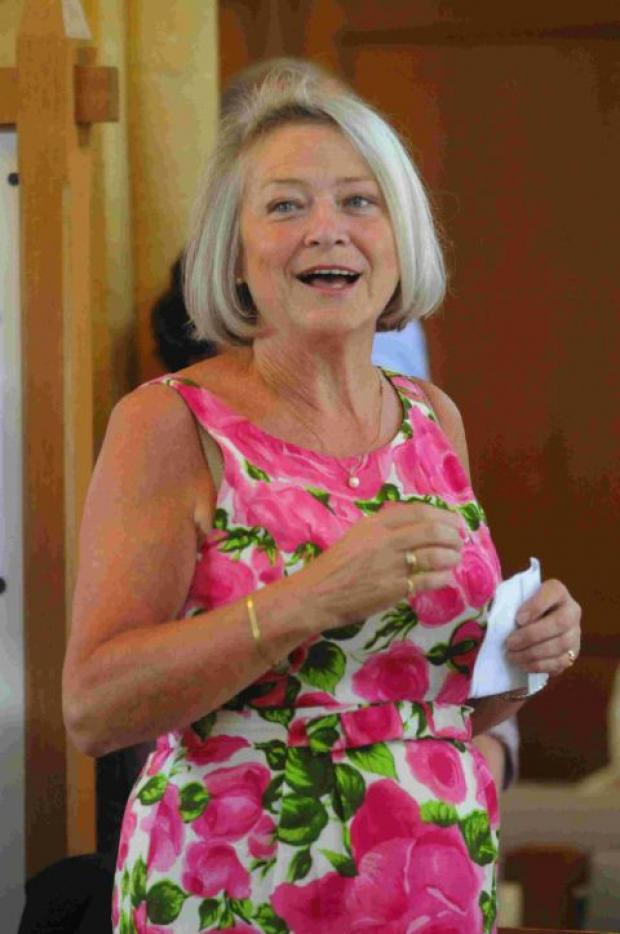PROTECTION: Kate Adie