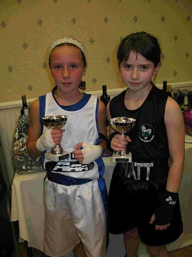 JUNIOR BOXER OF THE NIGHT: Derry McNulty