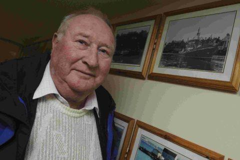 LIFEBOAT LEGEND: Former Weymouth lifeboat coxswain Derek Sargent  who has died at the age of 80