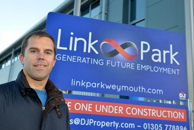 Mickey Jones of DJ Property at Link Park, Weymouth. Picture: Dorset Media Service