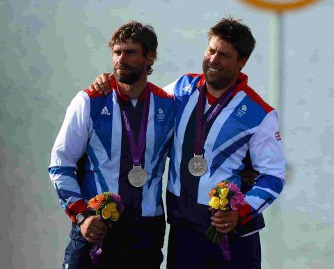 NEW CONCEPT: Olympic silver medallists Iain Percy and Andrew Simpson
