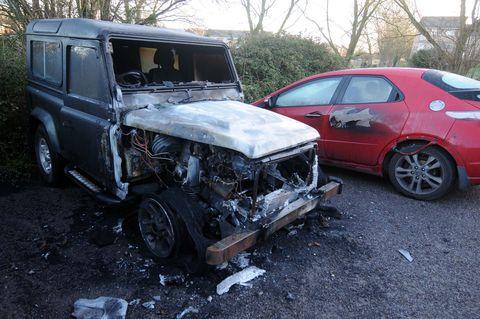The latest arson attack in LIttlemoor