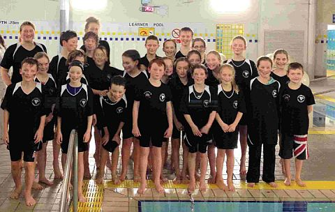 SWIM STARS: Tornadoes who starred at the Dorset Novice League Gala