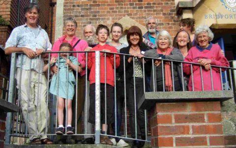 HOME PLANS: Members of the Bridport Cohousing Group