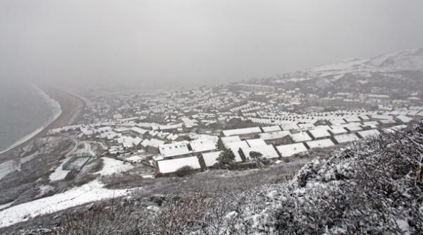 Fortuneswell covered in snow