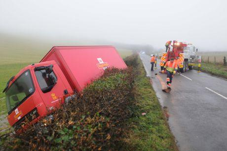 CRASH: Scene on A353 this morning