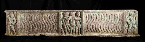 UNUSUAL: This Roman sarcophagus expected fo fetch up to £50,000