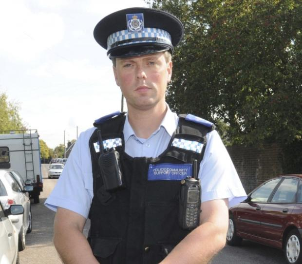 PCSO Mark Wodarek-Black