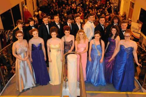 SHOWTIME: Models taking part in the second Budmouth prom show