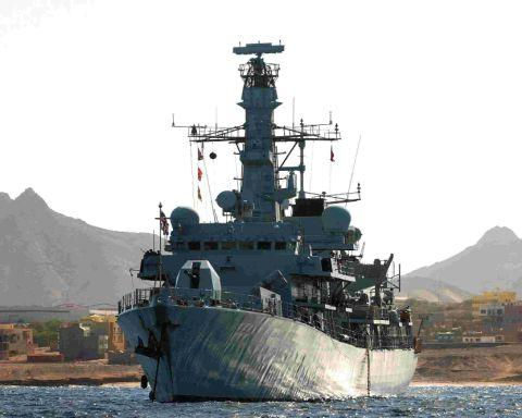 CALLING IN: HMS Lancaster will be visiting Portland next week and will be open to the public for visits
