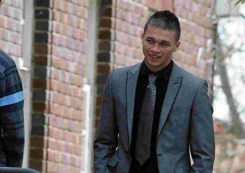 SEAFRONT ASSAULT: Stephen Brownlee at Dorchester Crown Court