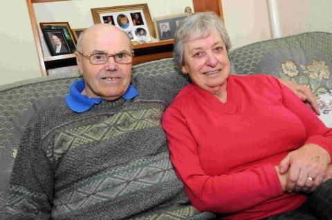 FOR LIFE: James and Phyllis Curran celebrate their 60th anniversary