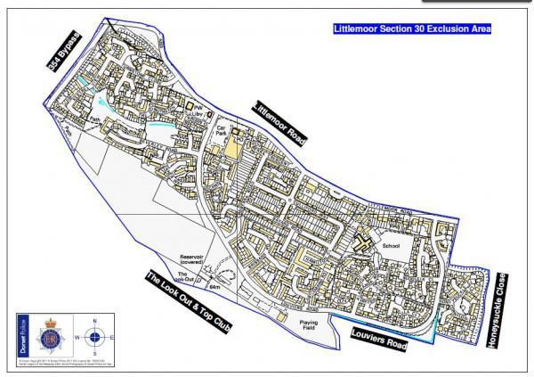 Dispersal order for Littlemoor