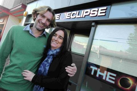 LOOKING FORWARD: Ellen and Mark Keenan at Eclipse in Trinity Street, Dorchester