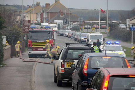 Emergency services called to Chickerell fire in Weymouth