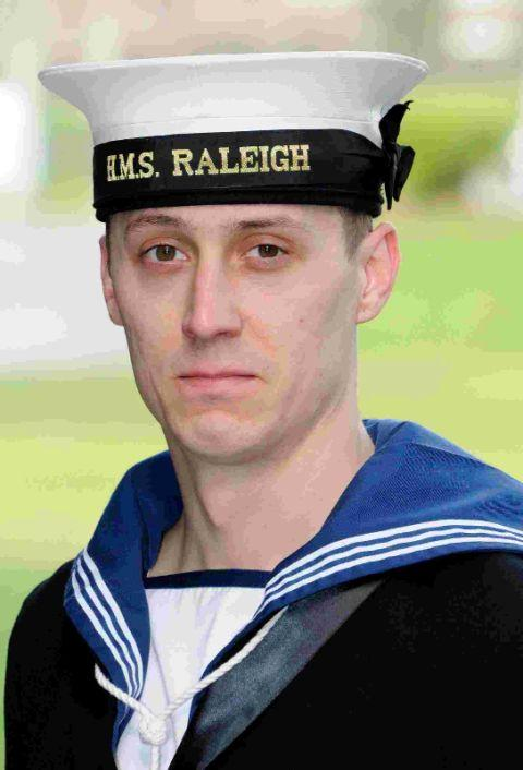 Sailor Carl Crook completes basic training for life on the
