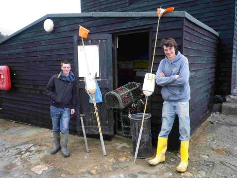 RESPONSIBLE: Fishermen in Lyme Regis who are working with the Blue Marine Foundation