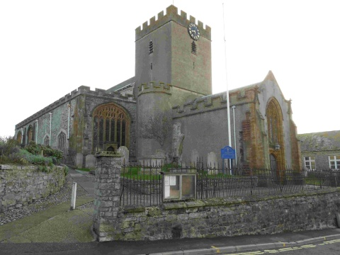 CHURCH BREAK-IN: St Michael's in Lyme