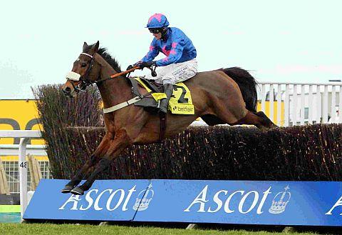 RYANAIR AIM: Cue Card ridden by Joe Tizzard