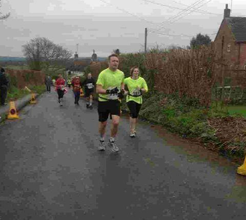 MARATHON MAN: Nathan Wood taking on the Blackmore Vale Half Marathon