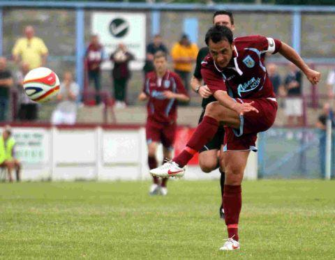 STAYING FOCUSSED: Terras' captain Scott Walker