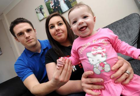 Can you raise £10,000 to help this brave Weymouth toddler?