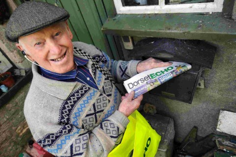 World's oldest paperboy facing battle with American rival