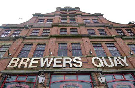 RE-OPENING: Brewers Quay in Hope Square