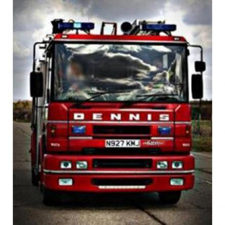 Firefighters called to yet another field fire near Dorchester