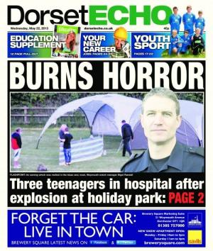Pick up a copy of today's Dorset Echo