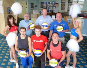 The RAF Weymouth Beach Volleyball Classic is set to take place on August 2-4