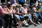 HAPPY DAYS: Crowds at the Quayside Music Festival