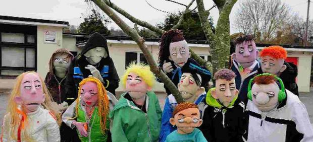 WE'VE GOT SOME ATTITUDE: Puppets featured in the BBC iPlayer programme Fuzzbox