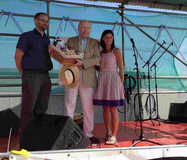 Dorset Echo: Lord Fellowes of West Stafford opens last year's festival