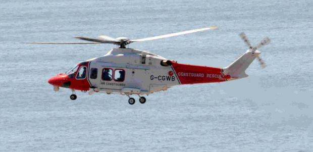 Dorset Echo: MISTAKE: A coastguard search was launched over the abandoned kayaks