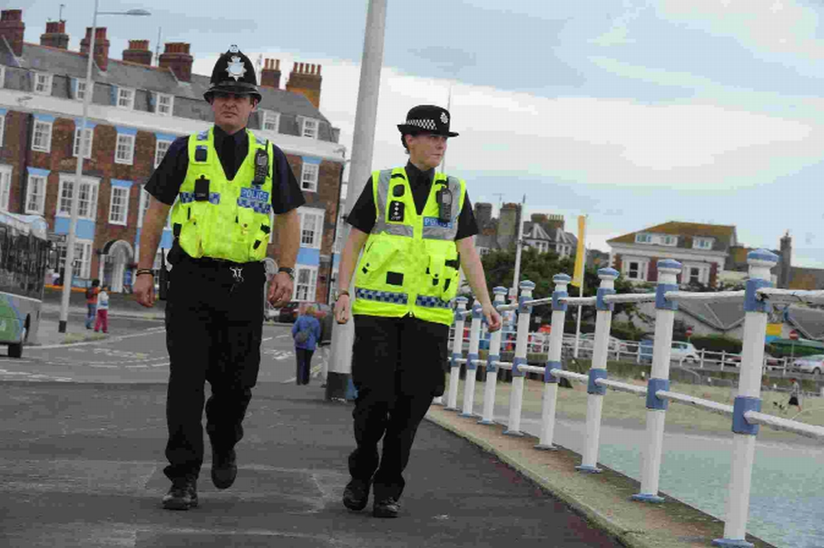 Eight arrested and 60 drinkers moved on in operation to clean up streets of Weymouth