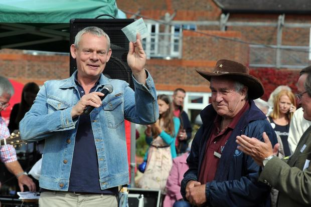 VIDEO: Actor Martin Clunes star guest at Weldmar Summer Fete